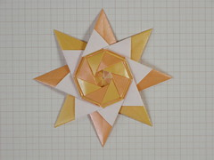 Star from triangles N° 4