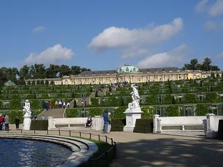 Palacio de Sanssouci en Potsdam