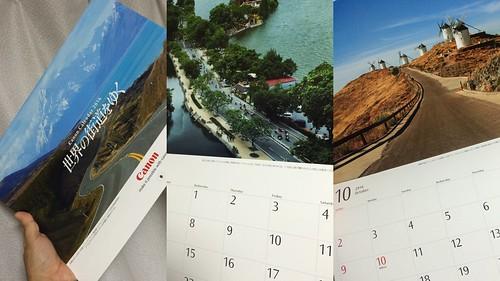キヤノンカレンダー2015