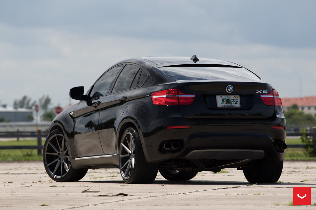 Bmw X6 22 Quot Vossen Vfs1 Matte Graphite Wheels 0005 Flickr