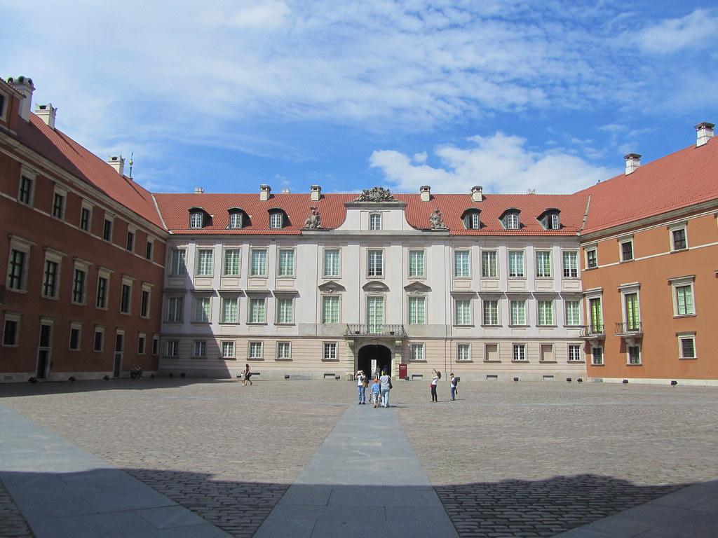 Patio de armas Castillo de Varsovia