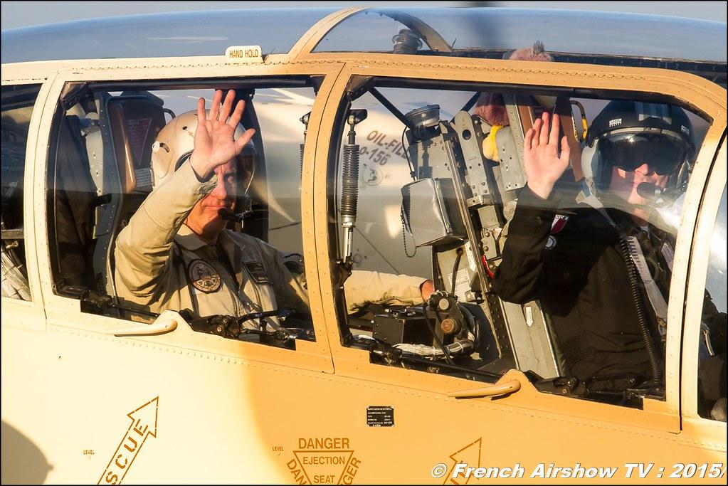 OV-10 Bronco, North American Rockwell OV-10B Bronco (F-AZKM / 55454/UU-26), c/n: 338-9, Musée Européen de l'Aviation de Chasse, Montelimar, France , Feria de l'air 2015,BAN Nimes-Garons, Feria de l'air nimes 2015, Meeting Aerien 2015
