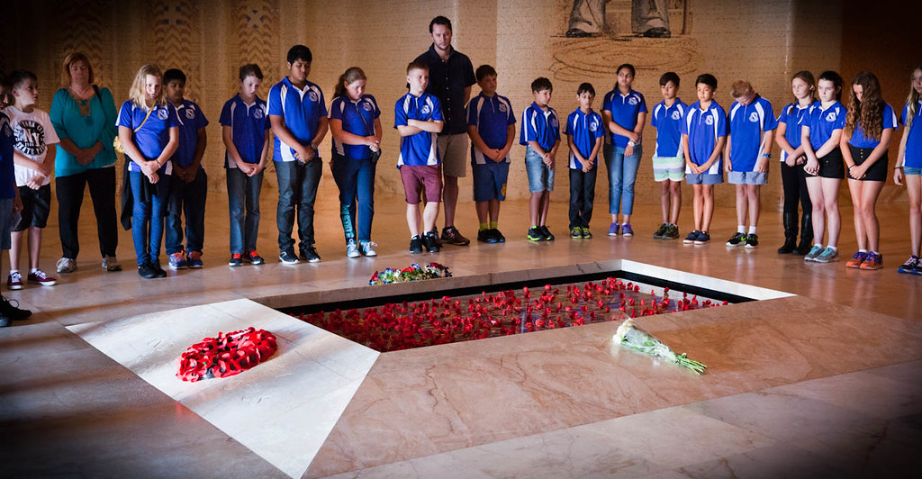 SWLC Morningside State School, Year 6/7, Morningside, QLD with Ms Terri Butler MP - 15/10/15 | by Australian War Memorial