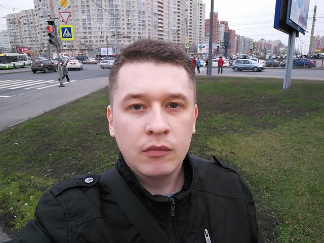 Снимок с фронтальной камеры ZUK Z1