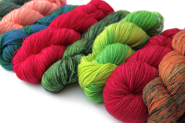 It's a Stitch Up Favourite Sock hand dyed yarn