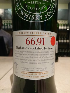 SMWS 66.91 - Mechanic's workshop by the sea
