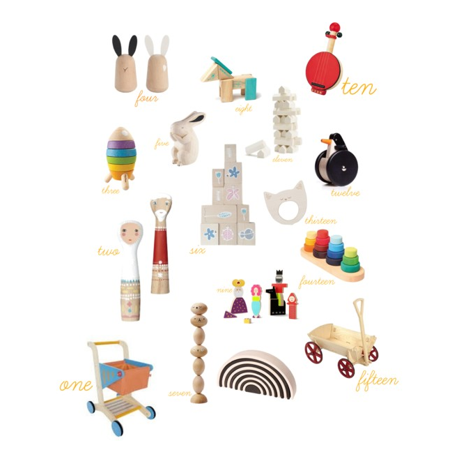 Wooden Toys {gift guide}