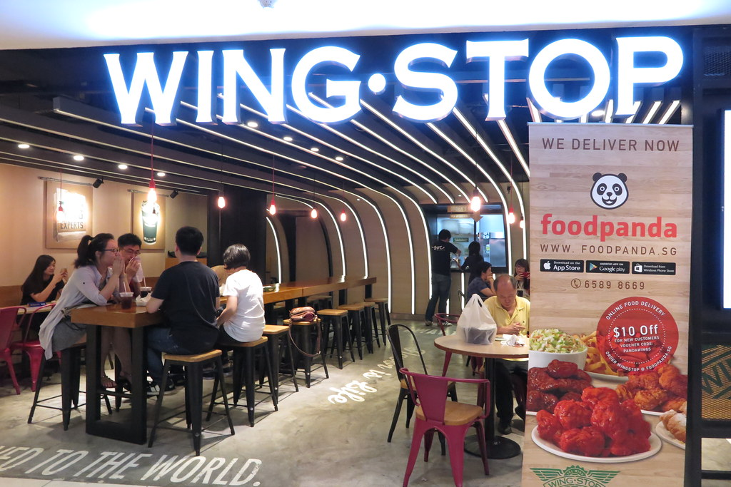 Wing Stop at City Square Mall, Basement 1