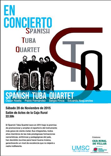 """""""Spanish Tuba Quartet Villar 2015"""