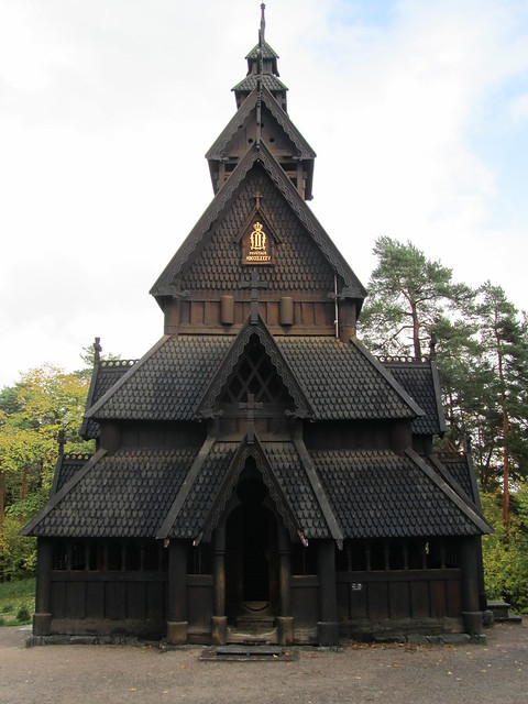Iglesia de madera de Gol en Oslo