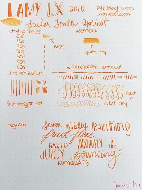 Review @Lamy LX Gold Fountain Pen @couronneducomte 19