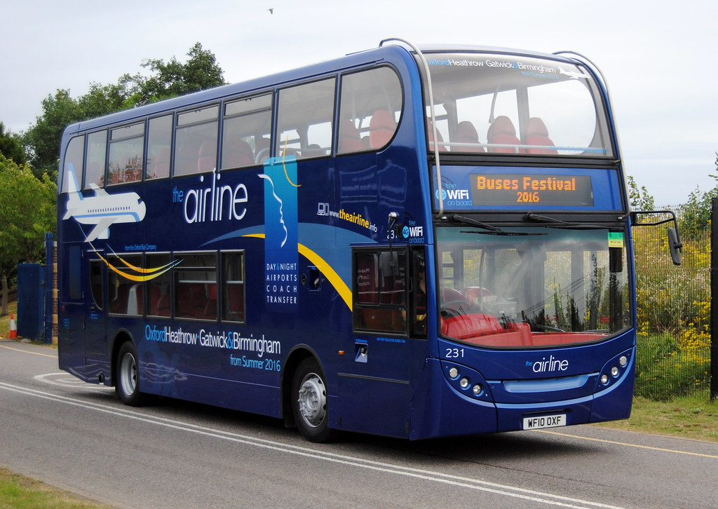 The Airline Oxford Bus Company City Of Oxford Motor Servi Flickr