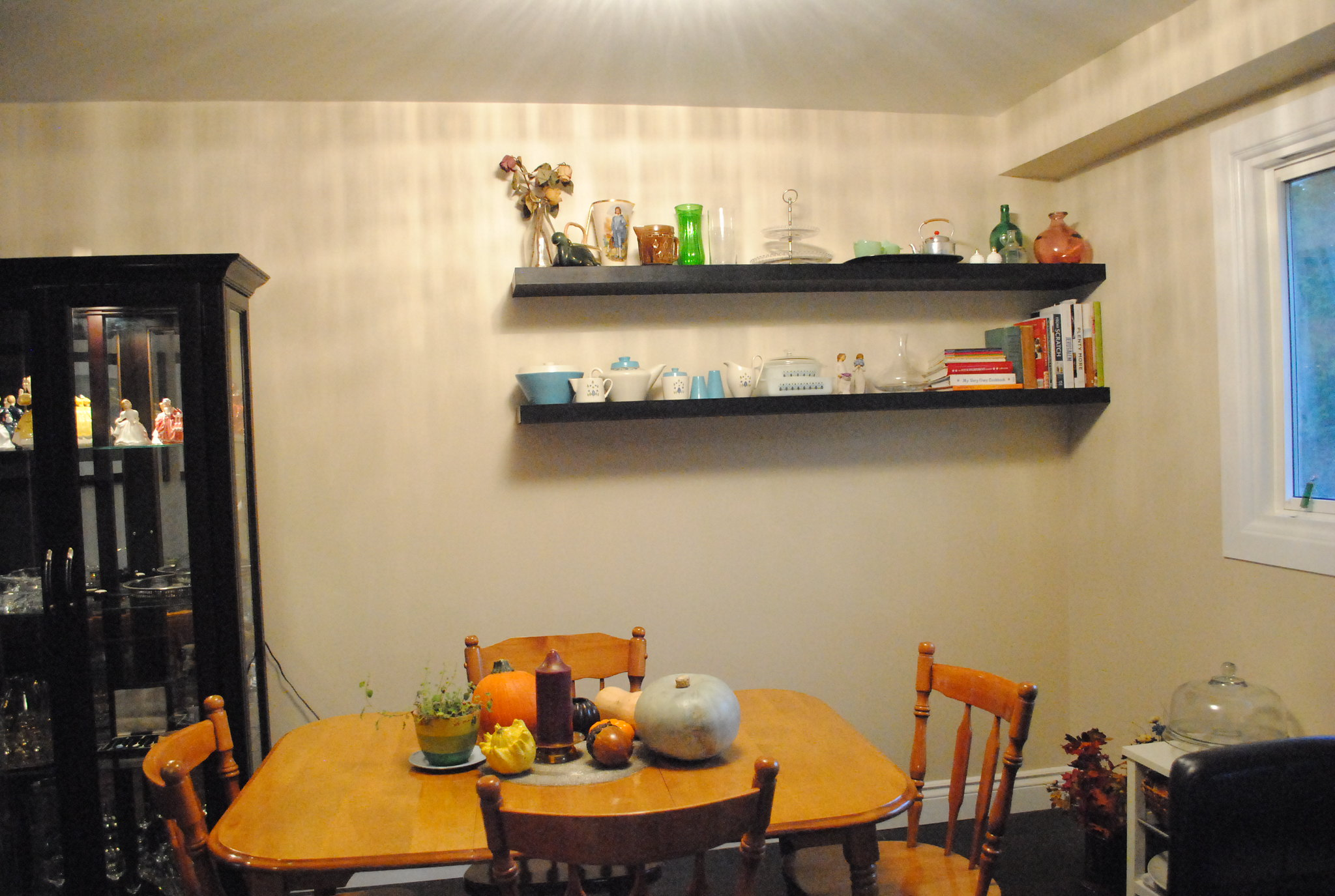 Ulixis Crafts Dining Room Shelves