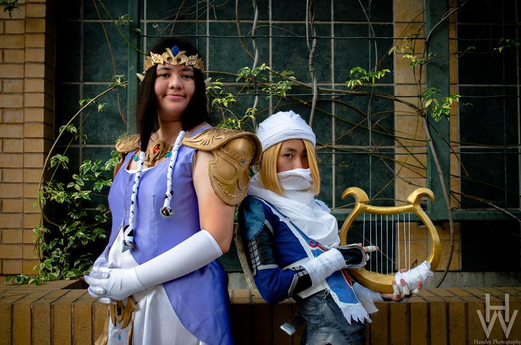 Sheik And Zelda Cosplay Series The Legend Of Zelda Cospla Flickr