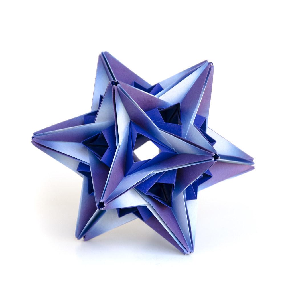 modular origami ball 30 units no glue paperfolding ek