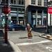 New York City Street Scenes - Corner of Jersey Street and Crosby Street in Soho
