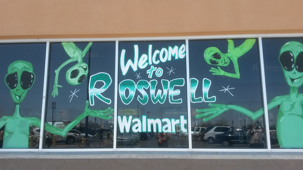 Walmart in Roswell, New Mexico