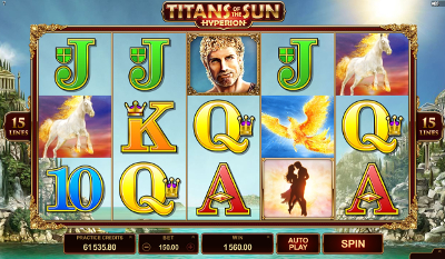 Titans of the Sun - Hyperion slot game online review