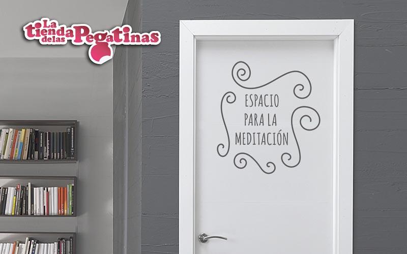 Vinilos decorativos de pared zen zn 0018 espacio para la m - Vinilos frases para dormitorios ...