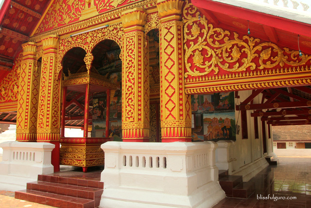 Vat Mounena Somphouaram Luang Prabang Laos