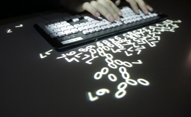 Keybright turns keyboard into magic letters of light