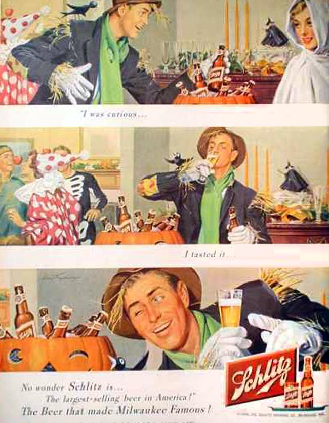 vintage-halloween-ad-schlitz