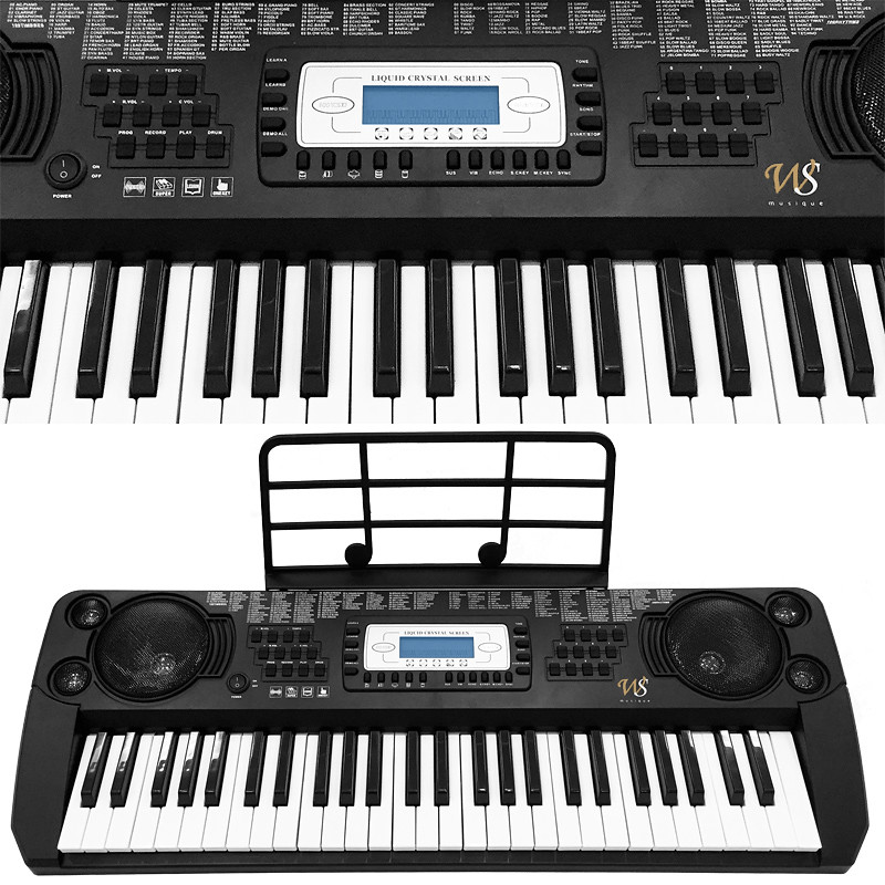 synthetiseur portable e piano clavier numerique de 37 a 61 touches pro neuf ebay. Black Bedroom Furniture Sets. Home Design Ideas