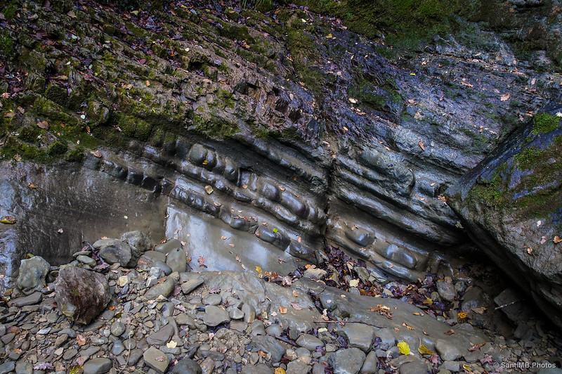 Al pie de la Cascada de Osate