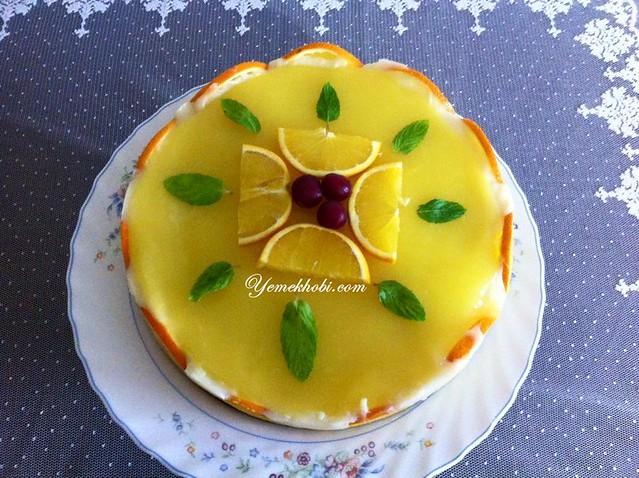 portakallı pratik pasta