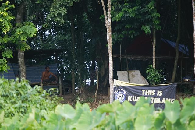 Campsite Pulau Berala, Sungai Jelai