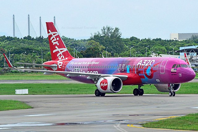 The new AirAsia Airbus A320neo