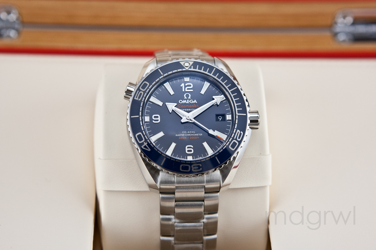 Omega Authorized Dealer >> Fsot New 2017 Omega Planet Ocean 39 5mm Blue 215 30 40 20