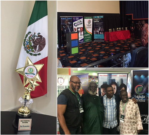 Documental mexicano premiado en el 13° Festival de Cine de Abuja