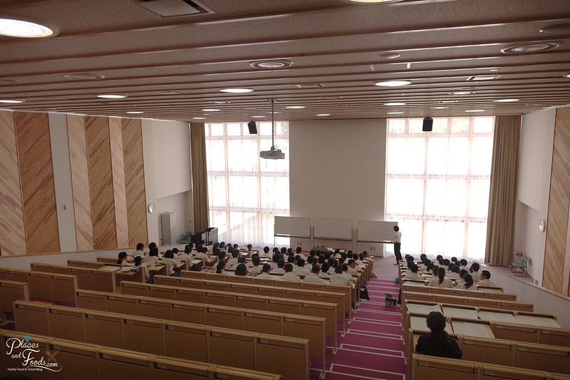 Kakunodate Senior High School lecture hall