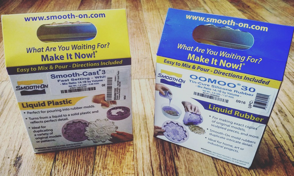 Smooth-On OOMOO 30 and Smooth-On Smooth Cast 3