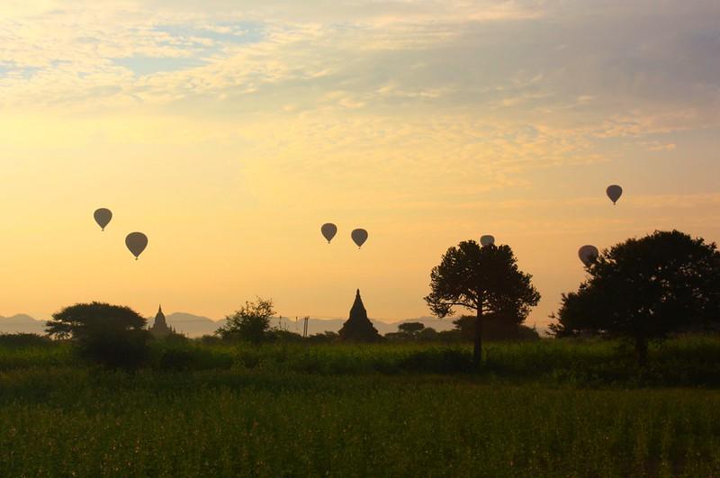 Воздушные шары Багана