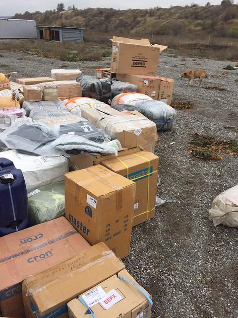 СБУ за добу в районі АТО затримала незаконні вантажі на 2 млн грн