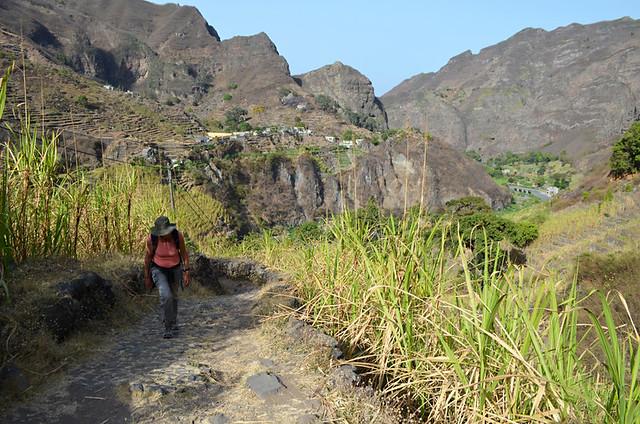 Path to Casa das Ilhas, Ribeira do Paul Valley, Santo Antao, Cape Verde