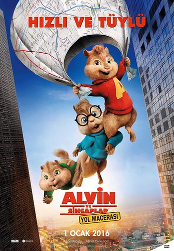 Alvin ve Sincaplar: Yol Macerası - Alvin and the Chipmunks: Road Trip (2015)