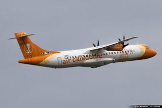Air Caledonie ATR 72-600 (72-212A) cn 1355 F-WWEP // F-OZIP