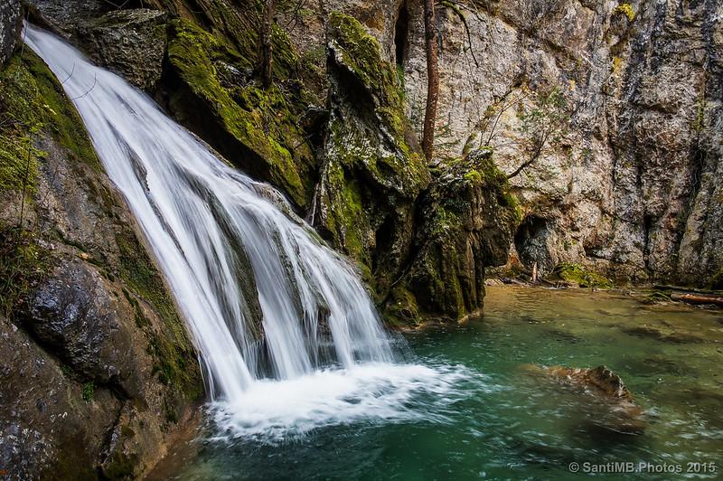 La Cascada de Belabarze desde otro ángulo