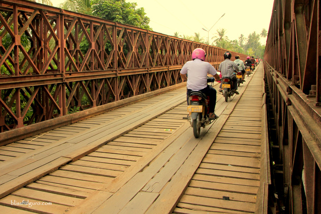 Old Bridge Luang Prabang Laos