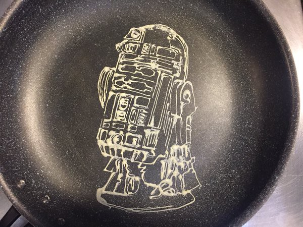 Star Wars R2-D2 Pancake