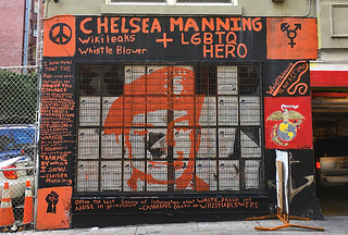 Shannon St Murals - Chelsea Manning LGBTQ hero
