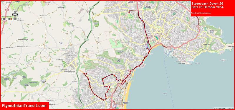 2014 10 01 Stagecoach Devon Route-026 Map.jpg