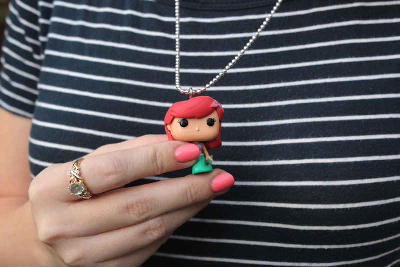 Little Mermaid Funko Pop Necklace