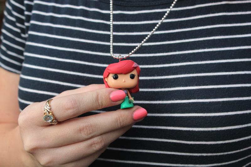 Little Mermaid Funko Pop Necklace