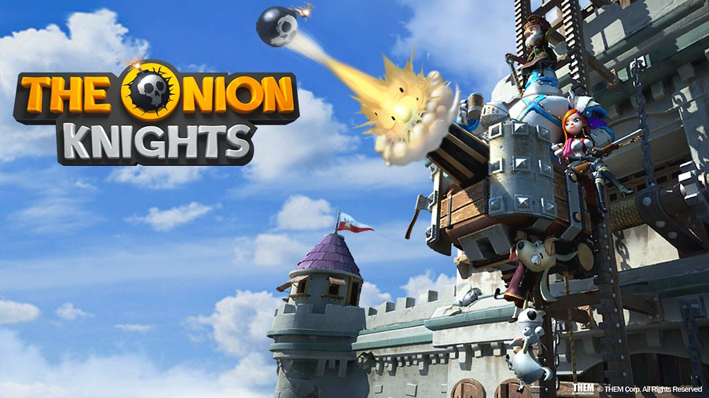 Defend the kingdom! 'The Onion Knights' Play it at PlayStation®4