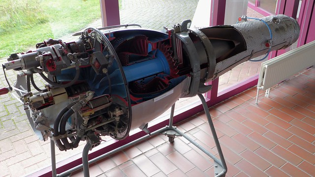 Triebwerk Turboméca Marboré II