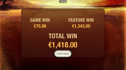 free The Riches of Don Quixote Mobile bonus feature prize